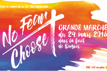No fear choose en-tête marche 2018